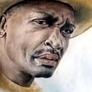 Smokin Joe Frazier Art Print