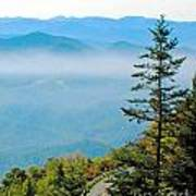 Smoky Mountain View Art Print