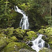 Smoky Mountain Waterfall - Mouse Creek Falls Art Print