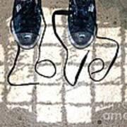 Sneaker Love 1 Art Print