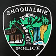 Snoqualmie Police Art Print
