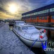 Snow Boat 1.0 Art Print