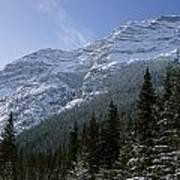 Snow Capped Mountain Art Print