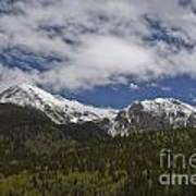 Snow Capped San Juans Art Print