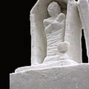Snow Mummy Art Print