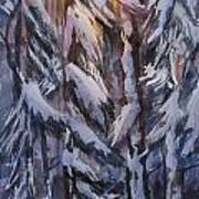 Snow Splattered 1 Art Print