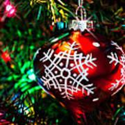 Snowflake Ornament Art Print