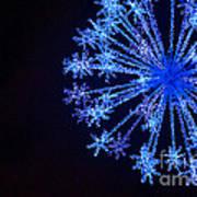 Snowflake Sparkle Art Print