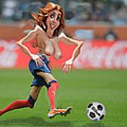 Soccer Mom Art Print