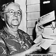 Social Security, 1940 Art Print
