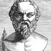 Socrates, Ancient Greek Philosopher Art Print by