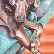 Sofa Serenade 1 Art Print