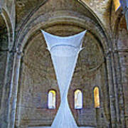 Soft Sculpture In A Monastery Art Print