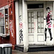 Soho Doorway Art Print