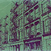 Soho New York Art Print by Naxart Studio