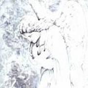 Solace Angel Art Print