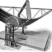 Solar Engine, 1884 Art Print