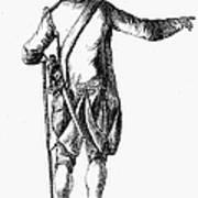 Soldier, 18th Century Art Print