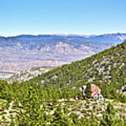 Solitude With A View - Carson City Nevada Art Print
