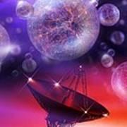 Solving The Universe's Mysteries, Artwork Art Print