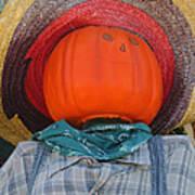 Sombrero Scarecrow Art Print