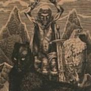 Songs Of The Last Gods Art Print by Sirenko