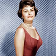Sophia Loren, Ca. 1950s Art Print by Everett
