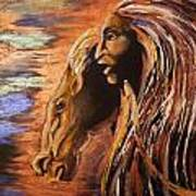 Soul Of Wild Horse Art Print