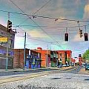 South Main Street Memphis Art Print