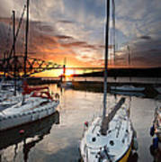 South Queensferry Harbour Art Print
