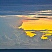 South Seas Yellow Art Print