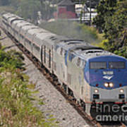 Southbound Amtrak Silver Star Art Print