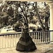 Southern Belle Art Print