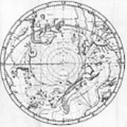 Southern Celestial Map Art Print