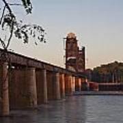 Southern Railroad Bridge Art Print