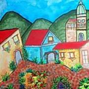 Southwest Village Art Print