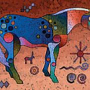 Southwestern Symbols Art Print