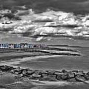 Southwold Beach Huts Art Print