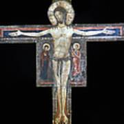 Sozio: Crucifix, 13th C Art Print
