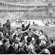 Spain: Bullfight, 1875 Art Print
