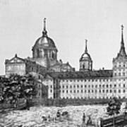 Spain: El Escorial, C1860 Art Print
