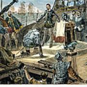 Spanish Armada Art Print by Granger