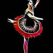 Spanish Ballerina Art Print by Steve K
