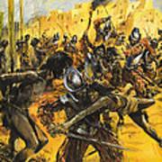 Spanish Conquistadors Art Print