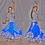 Spanish Dancers Art Print