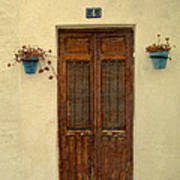 Spanish Doorstep Art Print