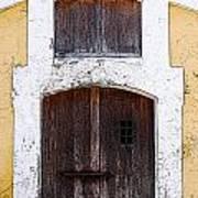 Spanish Fort Door Castillo San Felipe Del Morro San Juan Puerto Rico Prints Poster Edges Art Print