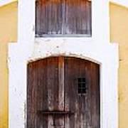 Spanish Fort Door Castillo San Felipe Del Morro San Juan Puerto Rico Prints Art Print