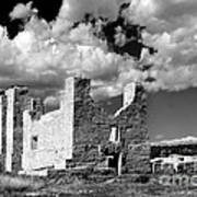 Spanish Mission Ruins Of Quarai Nm Art Print by Christine Till