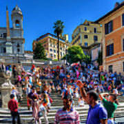 Spanish Steps Art Print